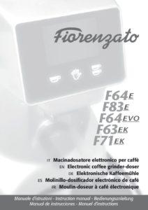 FIORENZATO F64-F83E-F64EVO-F63EK-F71EK