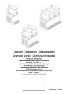 GBG GRANISMART - MANUALE D USO