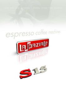 LA SPAZIALE S15 - MANUALE D USO