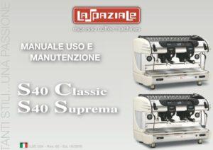 LA SPAZIALE S40 - MANUALE D USO