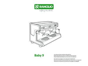 RANCILIO BABY 9 A - MANUALE D USO