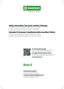 RANCILIO BABY 9 - MANUALE D USO