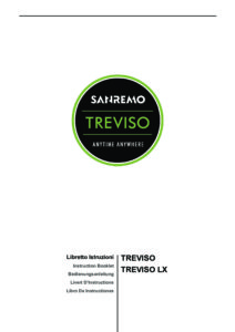 SANREMO TREVISO - MANUALE D USO